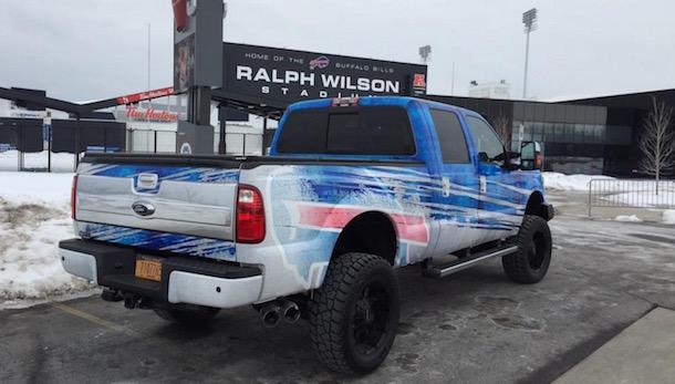Rex Ryan bills truck