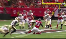 Jacob Tamme Makes Unreal One-Handed Catch While Falling Down (Video)