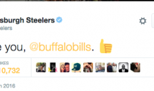 Bills and Steelers Have Hilarious Twitter Exchange After Knocking Jets Out of Playoff Contention