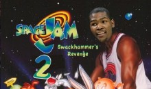 College Announcer Claims Kevin Durant Was in 'Space Jam', Is a Terrible Liar (Video)