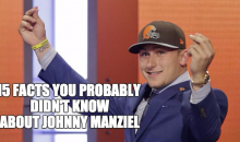 15 Facts You Probably Didn't Know About Johnny Manziel (Video)