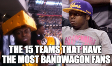 The 15 Teams That Have The Most Bandwagon Fans (Video)
