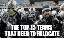 The Top 15 Teams That Need to Relocate (Video)