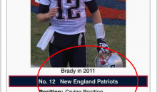 Tom Brady Gets Hilarious Wikipedia Update After Loss To The Broncos (PIC)
