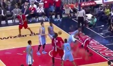 Kenneth Faried Lays Down a Filthy, Massive Block on Bradley Beal (Video)