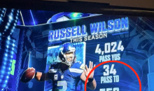 ESPN Mistakenly Thinks Russell Wilson Is The GOAT… LMAO! (PIC)
