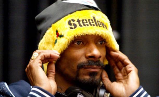 Snoop Dogg Steelers fan