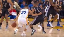 Steph Curry Was Running Circles Around the Spurs (Videos)