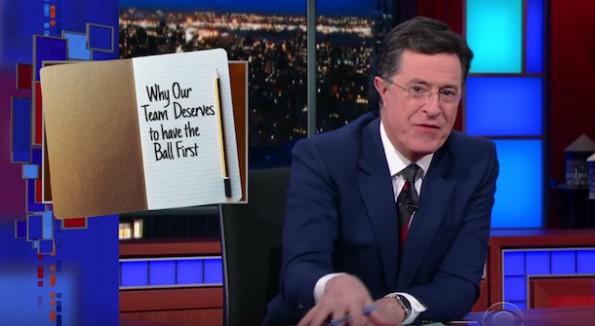 Stephen Colbert coin flip alternative