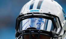 Thomas Davis Has Panthers-Themed Visor vs. Seahawks (Pic)
