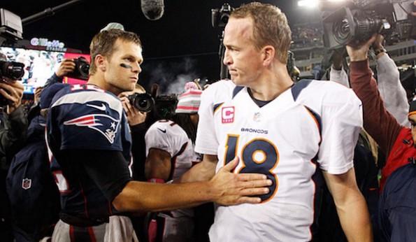 Tom Brady and Peyton Manning