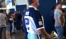 This Dude Went to the Cowboys Game Fully Dressed as Gameday Tony Romo (Video)