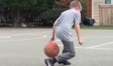 This 11 Year-Old Pulls Off an Uncanny Steph Curry Impression (Video)