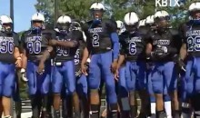 Video Surfaces Of Cam Newton Freestyling While Playing At Blinn College (Video)