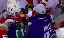 Canucks and Panthers Almost Throw Down After Game