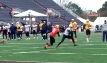 Braxton Miller Shows Off Sick Moves at Senior Bowl Practice (Video)