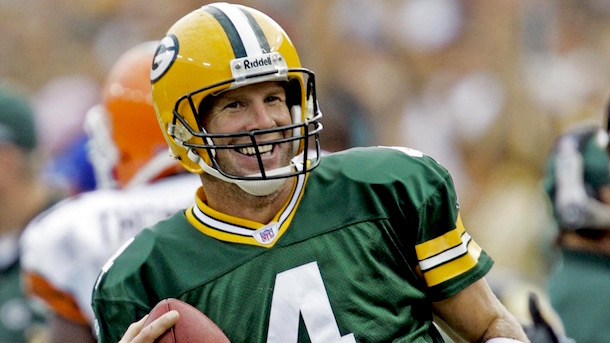 brett favre pro football hall of fame