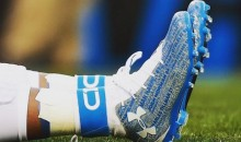 Cam Newton Wore Cleats with Teammates' Names on Them During NFC Championship Pregame Warmup (Pics)