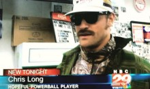 Rams DE Chris Long Uses Disguise and Fake Name to Buy PowerBall Tickets, Gives Hilarious Interview on Local News (Video)