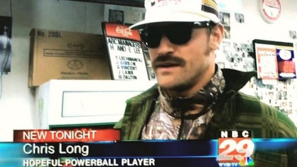 chris long hopeful powerball player interview