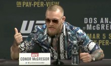 Conor McGregor Lives Up to Reputation as World Champion Trash Talker at UFC 197 Press Conference (Video)