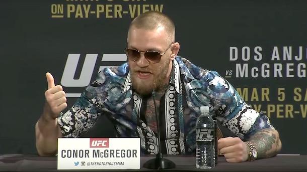 conor mcgregor trash talk ufc 197 press conference