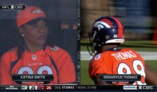 Demaryius Thomas' Mom Katina Smith Watched Her Son Play Football For The First Time On Sunday (Pics)