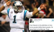 Twitter Racists Go Off On Cam Newton Just Because He's Black (PICS)