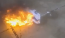 Upset Vikings Fan Burns His Adrian Peterson Jersey (Video)