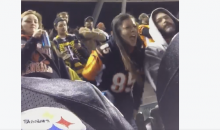 Drunk Female Bengals Fan Goes On Verbal Tirade Against Steelers Fans (Video)