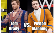 Tom Brady vs. Peyton Manning Given The WWE 2K16 Treatment (Video)