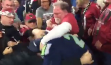 Brawl In The Stands During Packers-Cardinals Game Involved A Seahawks Fan (Video)