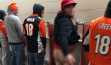 Overalls Wearing Bengals Fans Caught With Pants Down, A** Out (PIC)