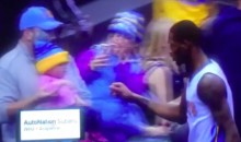 Nuggets' Will Barton Fist-Bumped a Baby (Video)