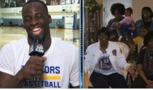 Watch Draymond's Green Mom Inform Him He's Made the All-Star Team (Video)