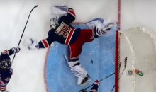 Sprawling Henrik Lunqvist Save Might Just Be NHL's Save of the Year (Video)