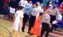 High School Basketball Coach Appears to Headbutt Ref (Video)