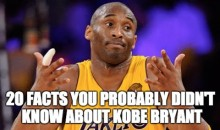 20 Facts You Probably Didn't Know About Kobe Bryant (Video)