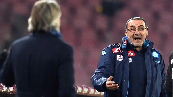 inter coach mancini says napoli coach maurizio sarri called him faggot