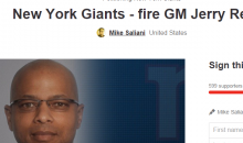 New York Giants Fans Start Petition To Fire GM Jerry Reese
