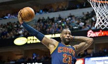 LeBron Channels Karl Malone with Epic Mailman Dunk (Video)