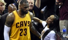 Female Fan Says LeBron's Mom Pushed Her At Mavs Game (Audio)