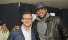 Lebron Comments On Johnny Manziel While His Marketing Agency Drops Him