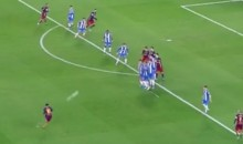 Lionel Messi Scores Amazing Free Kick Goal…For Like the Hundredth Time (Video)