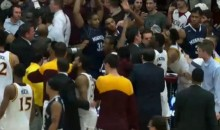 Monmouth-Iona Scuffle At End Of Game Includes A Player Getting B*tch Slapped (Vid)