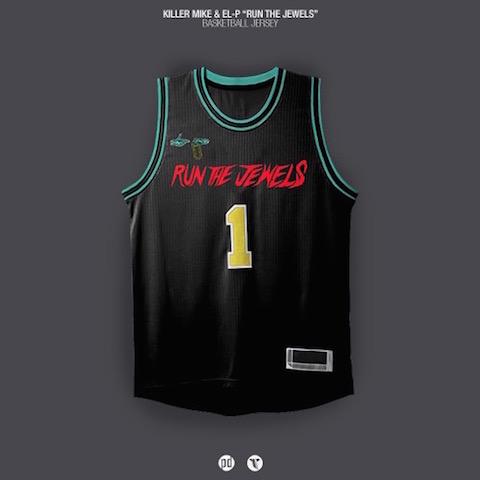 rap albums as nba jerseys - killer mike run the jewels