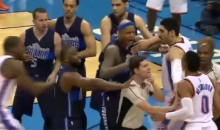 Russell Westbrook Ejected After Scuffles With J.J. Barea (Videos)