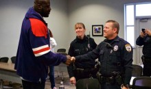 Shaq Surprises Florida Basketball Cop and the Kids He Didn't Arrest for Being Kids