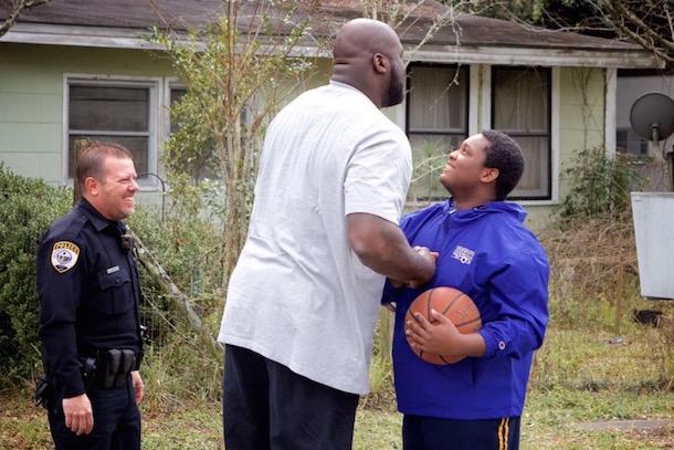 shaq surprises florida basketball cop 5