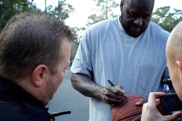 shaq surprises florida basketball cop 6